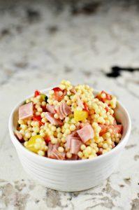 Couscous Ham Vegetable Salad