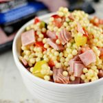 Gourmet Couscous Vegetable and Ham Salad