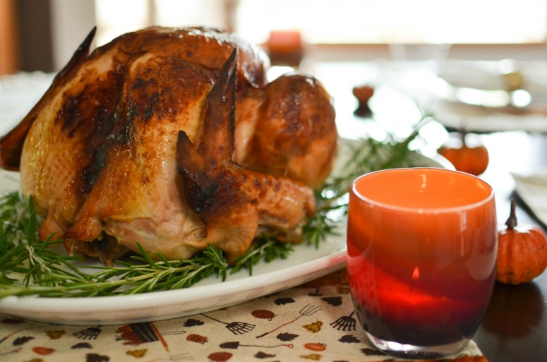 Easy Delicious Thanksgiving Turkey with Apple Turkey Cider Brine