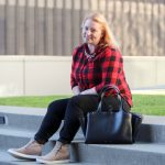 Buffalo Plaid Outfit for Casual Friday