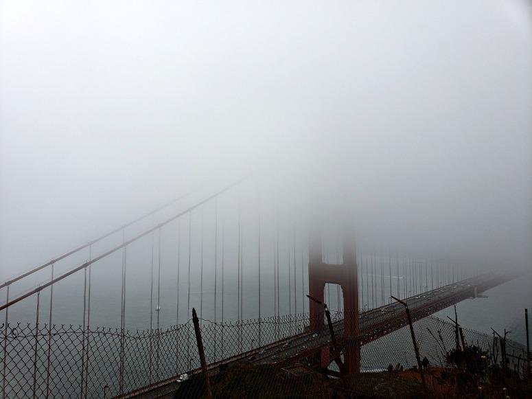 Karl the Fog - A Long weekend in San Francisco