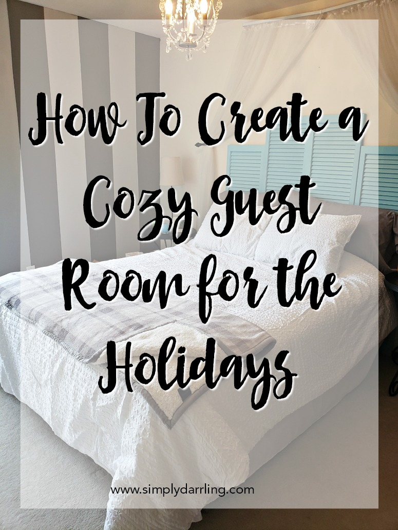 Kohl's Cozy Guest Room for the Holidays