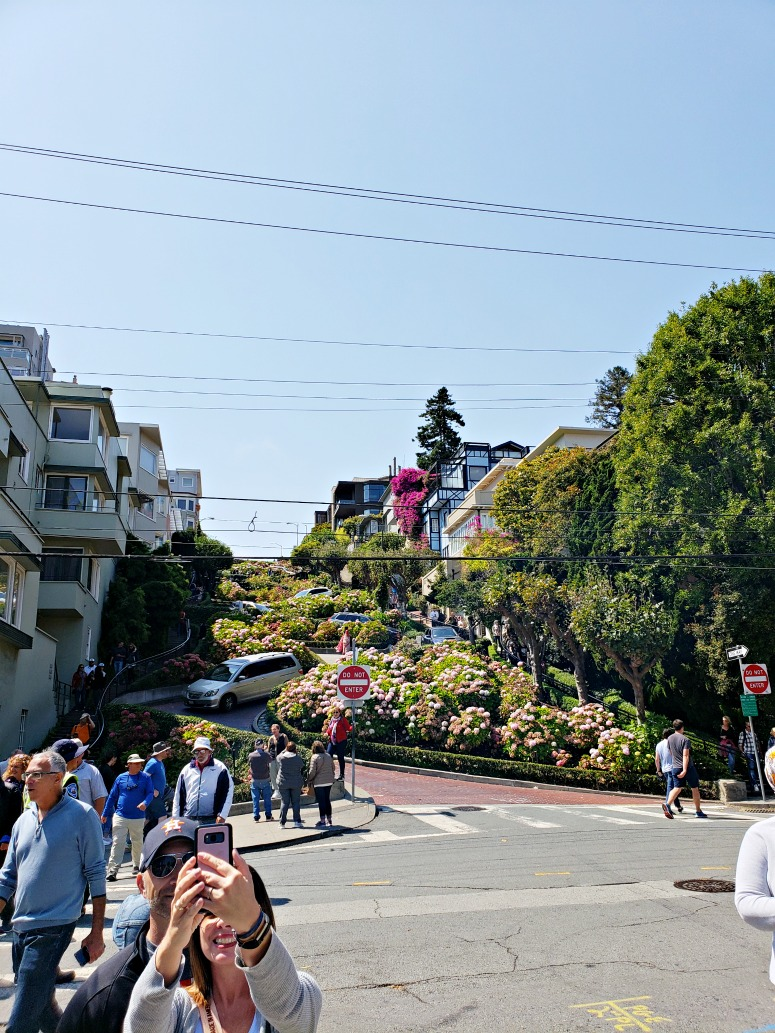 Lombard Street - A Long weekend in San Francisco