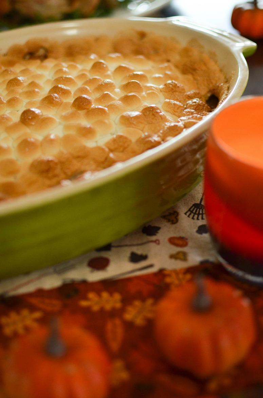 Creamy & Dairy-Free Mashed Sweet Potato Casserole