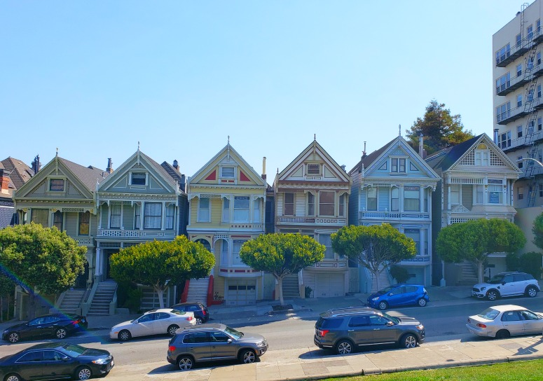 Painted Ladies - A Long weekend in San Francisco