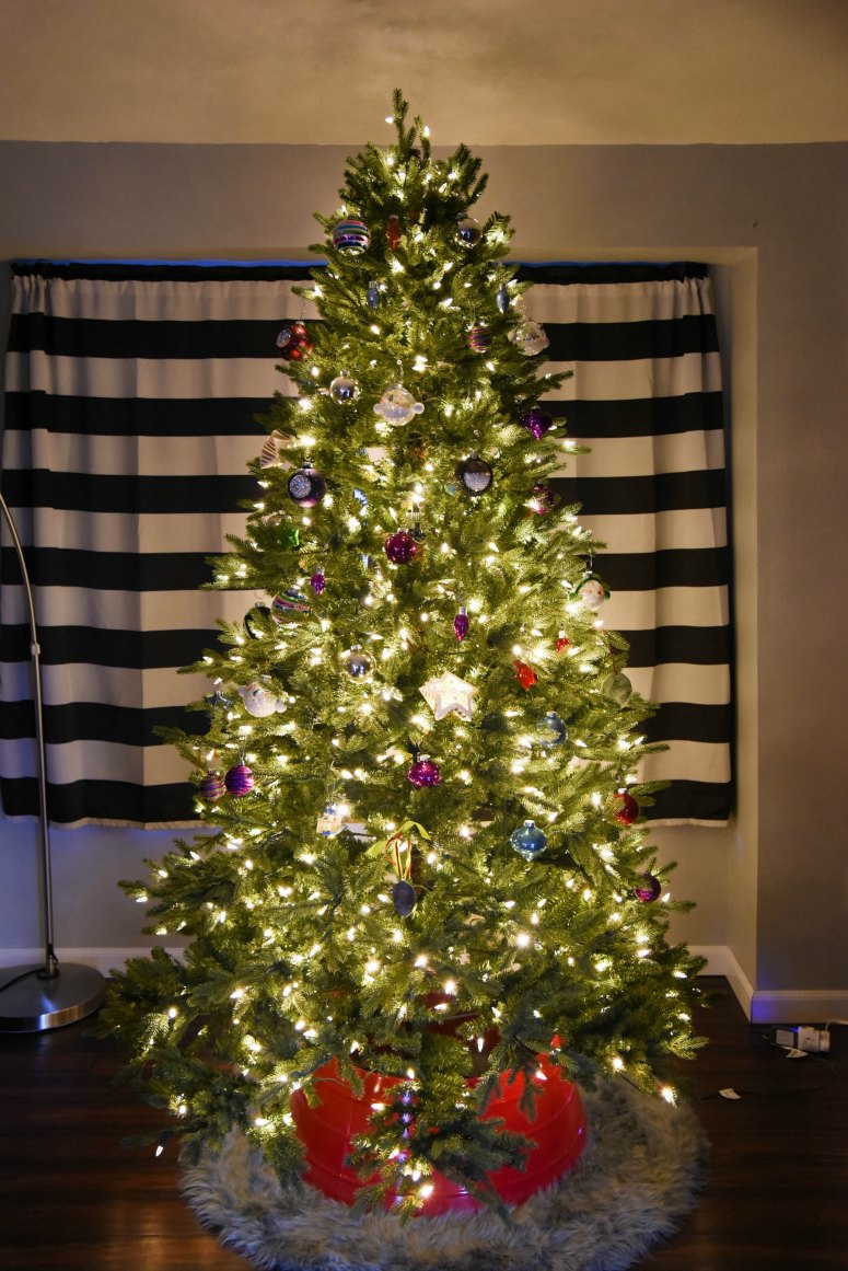 Why we Bought a Fake Tree (After I swore I never would)