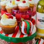 Pineapple Upside Down Inspired Cupcakes