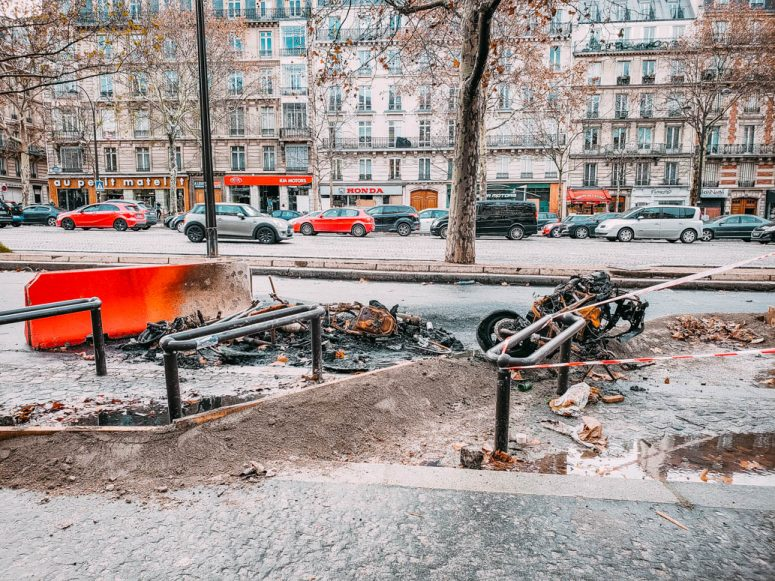 Yellow Vest Damage in Paris