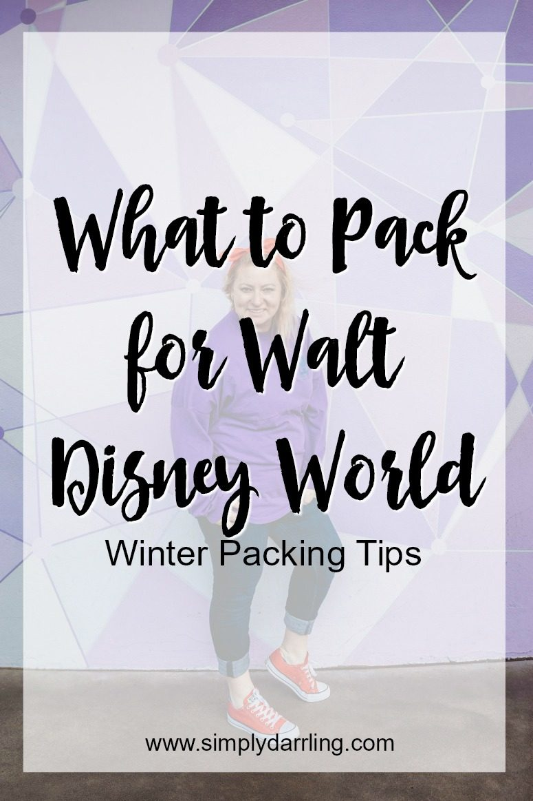 Packing for Walt Disney World - Winter Edition