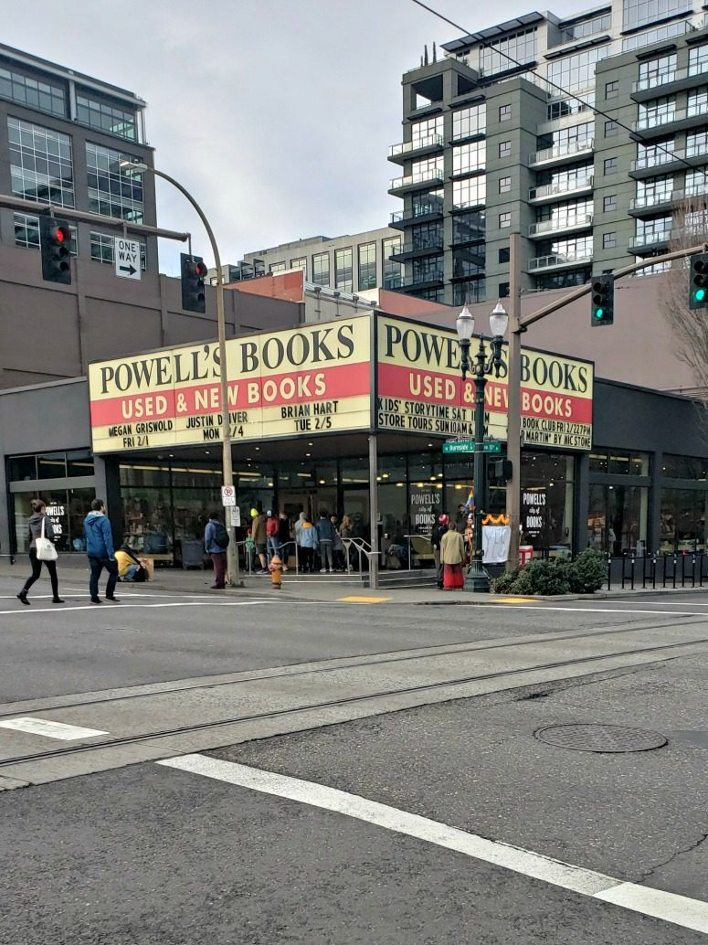 Powell's books in Portland Oregon