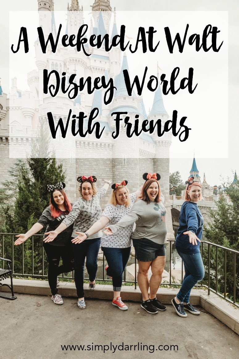 Weekend at Walt Disney World with Friends