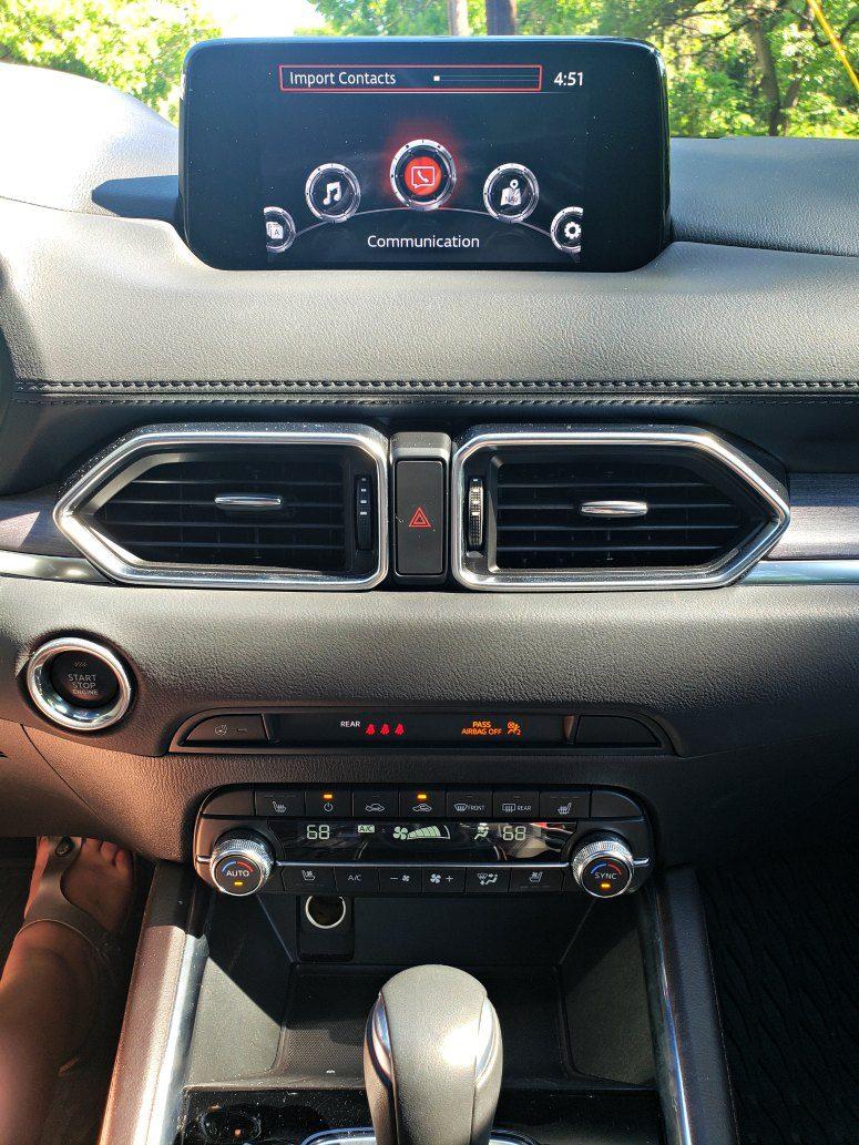 Infotainment System - Mazda CX-5
