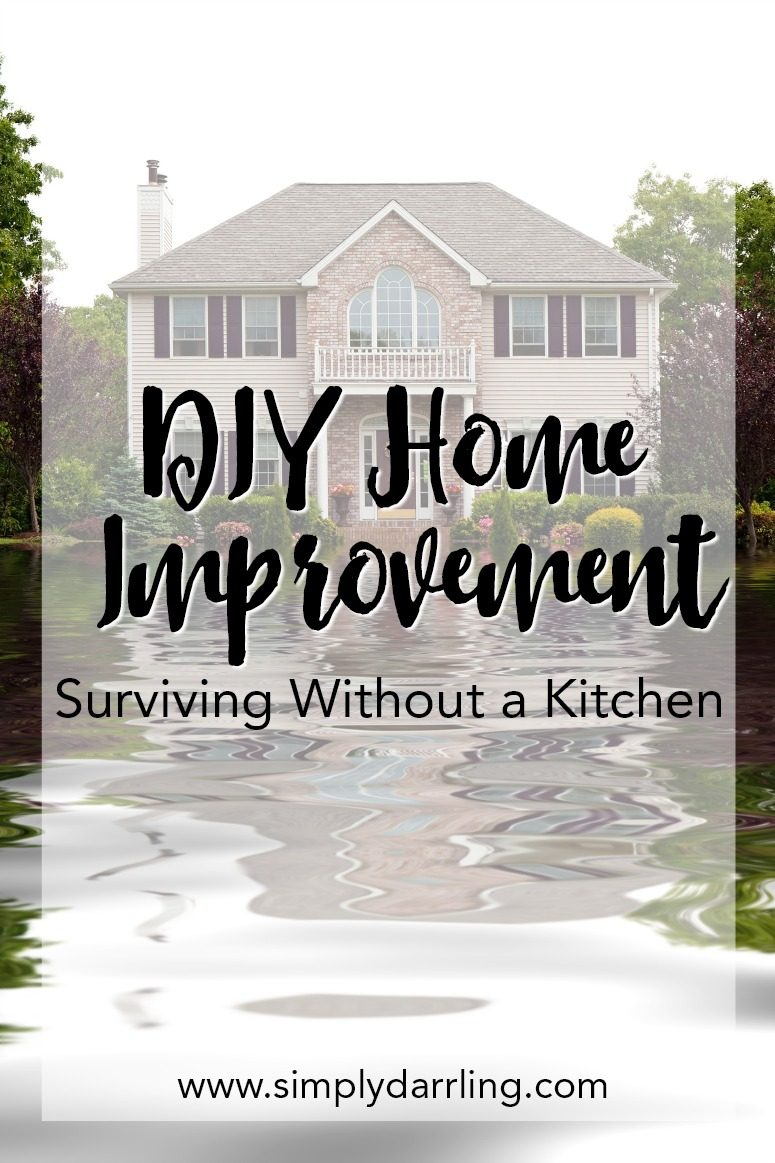 DIY Home Improvement – Surviving Without a Kitchen