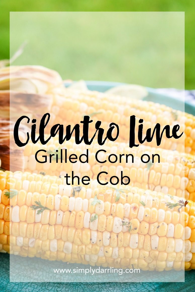Cilantro Lime Grilled Corn on the Cob