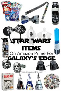 Star Wars Items to buy on Amazon for Galaxy's Edge