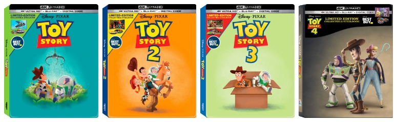 Toy Story SteelBook Covers