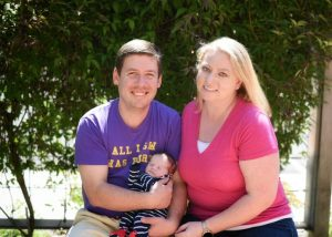 Open Adoption First Family Photo