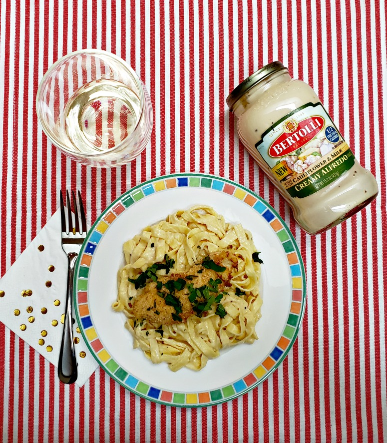 Air Fryer Chicken Fettuccine Alfredo