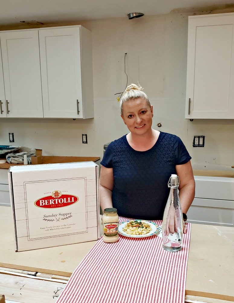 Bertolli® Fettuccine Alfredo with Air Fried Chicken