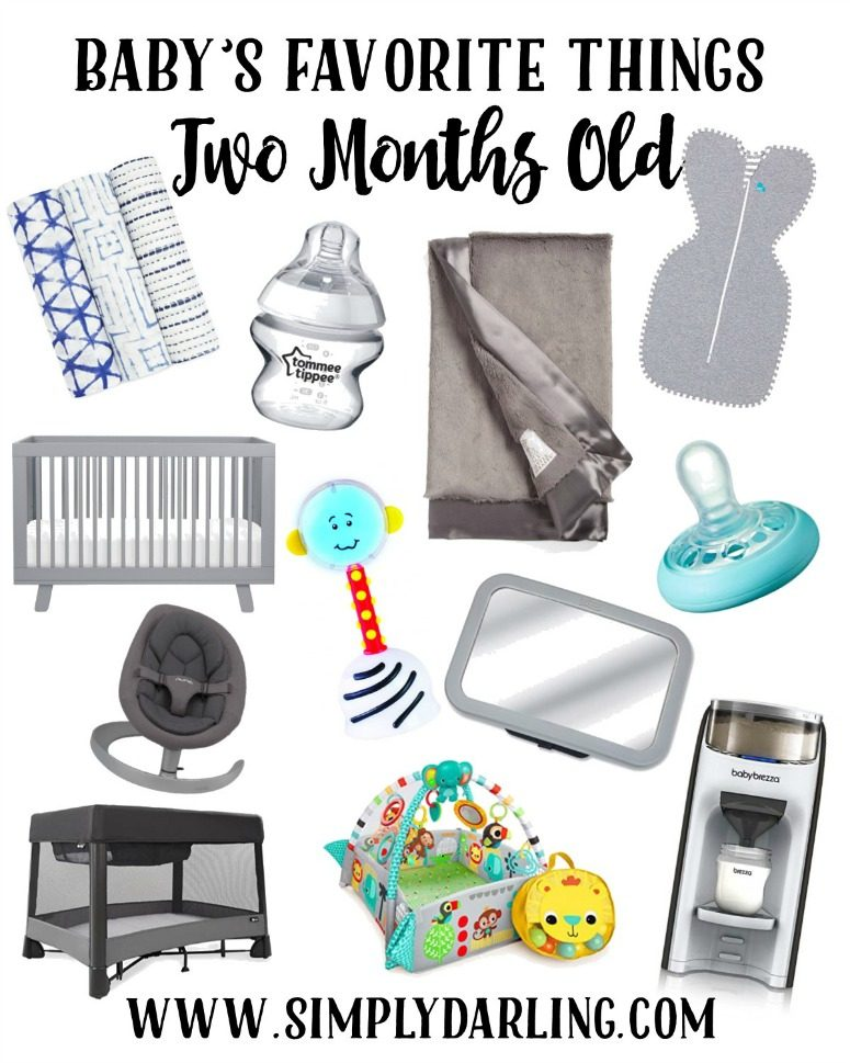 Baby's Favorite Things at 2 Months