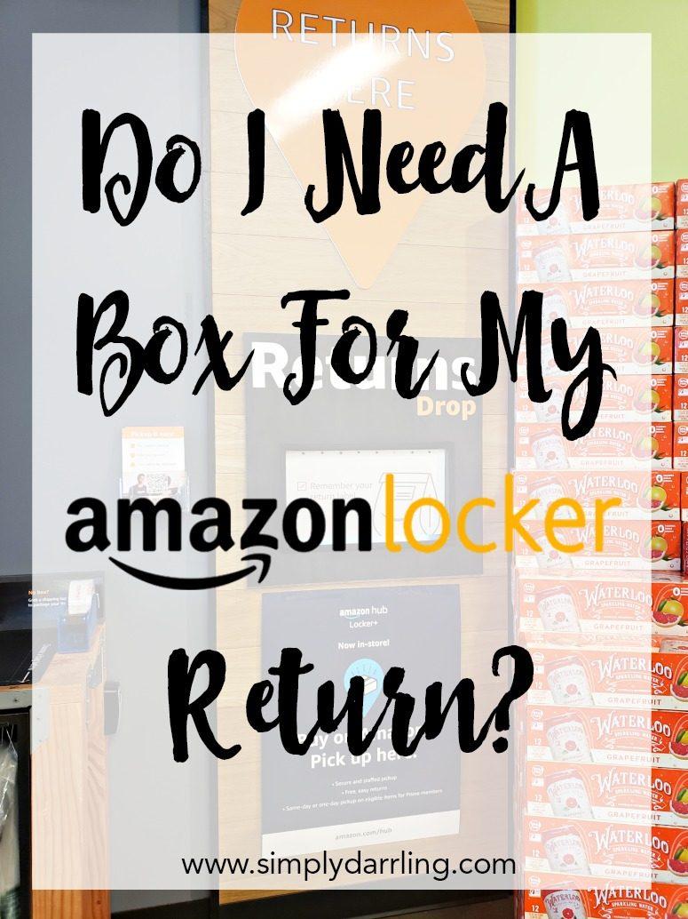 Amazon Hub Locker Plus Returns