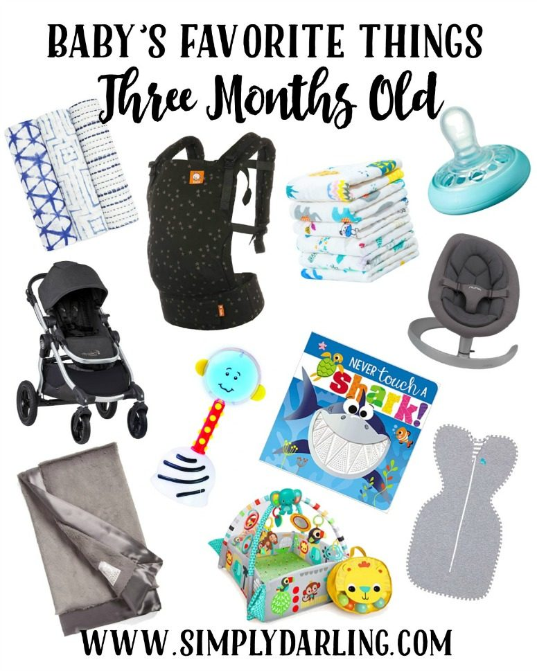 Baby's Favorite Things - 3 Months Old