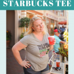 DIY Disney & Starbucks Tee