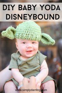 DIY Baby Yoda Disneybound