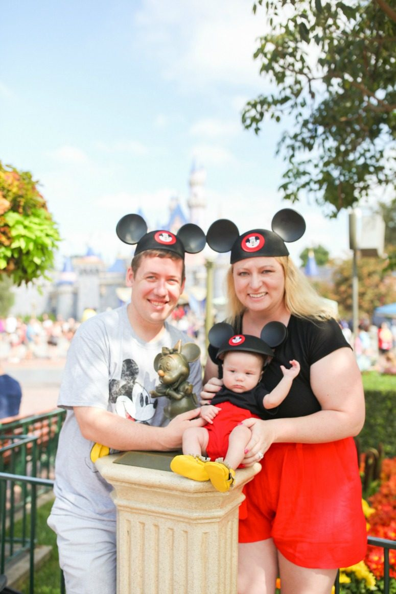 Mom & Baby Mickey Mouse Disneybounding