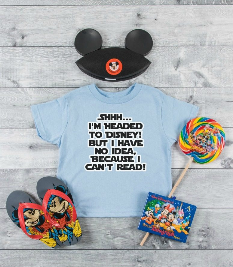 DIY Disney Surprise Tee