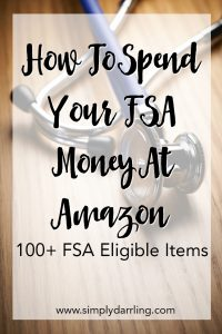 100+ FSA Eligible Items on Amazon