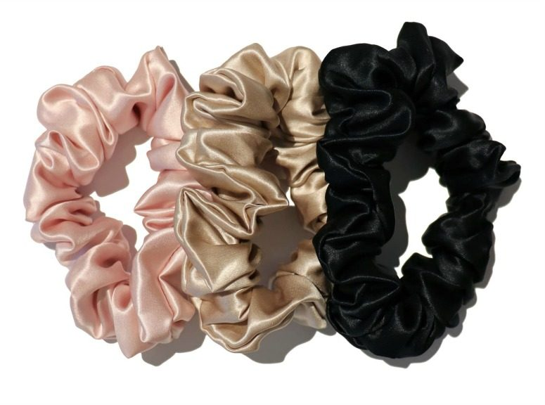 Silky Hair Scrunchies