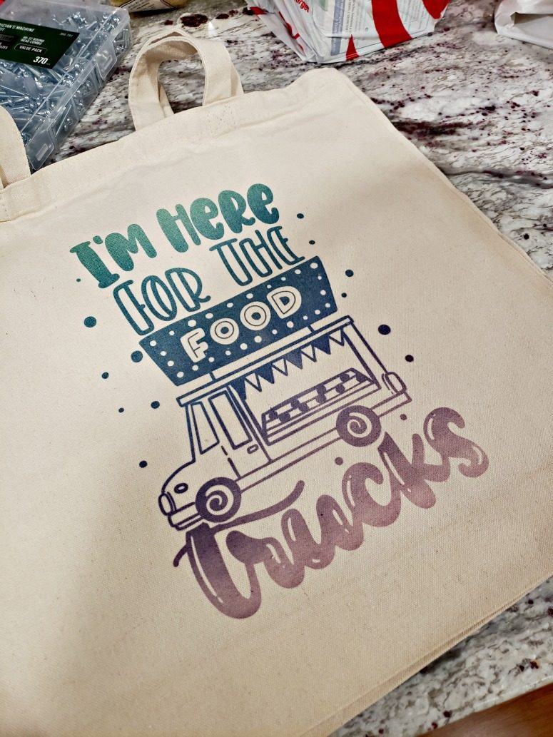 Canvas Tote with Sublimation