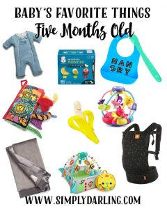 Baby's Favorite Things - 5 Months Old
