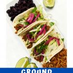 Ground Cauliflower Tacos