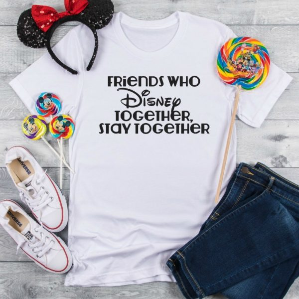 DIY Disney Tee – Traveling with Friends