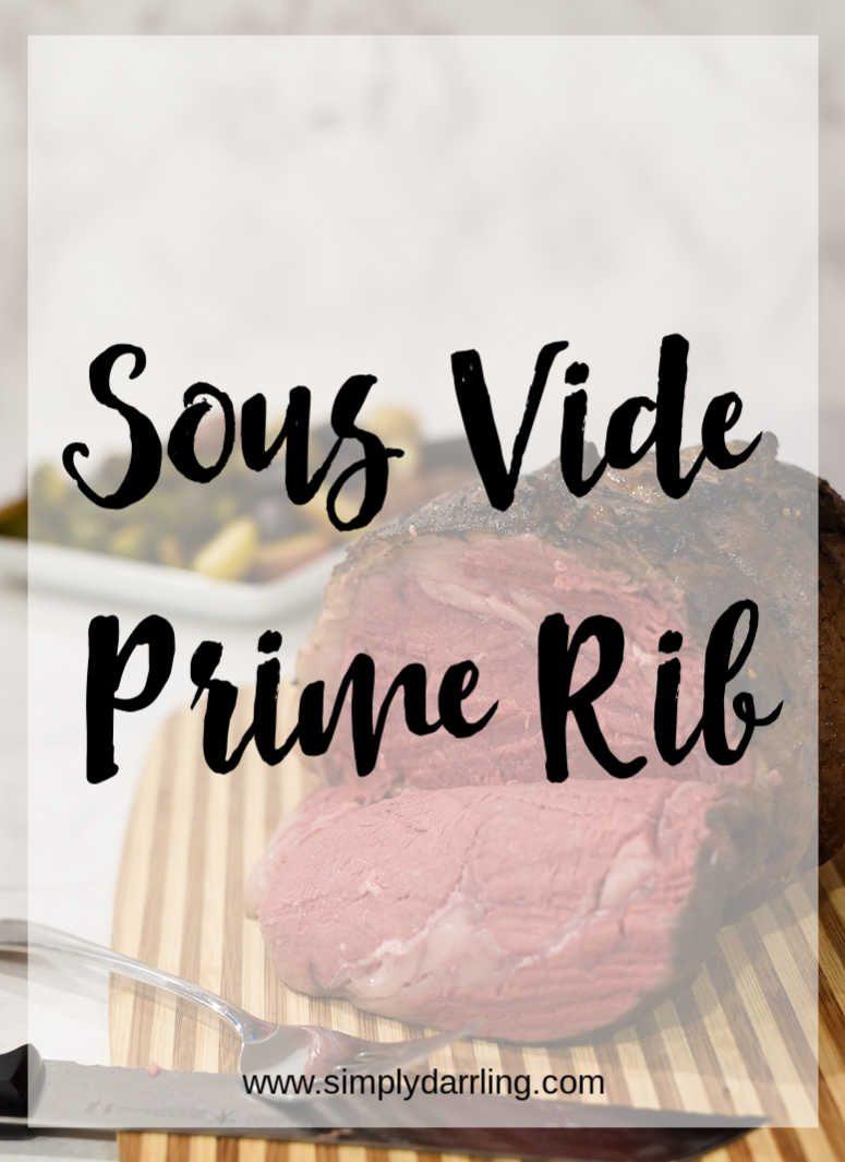 Sous Vide Prime Rib Roast Recipe