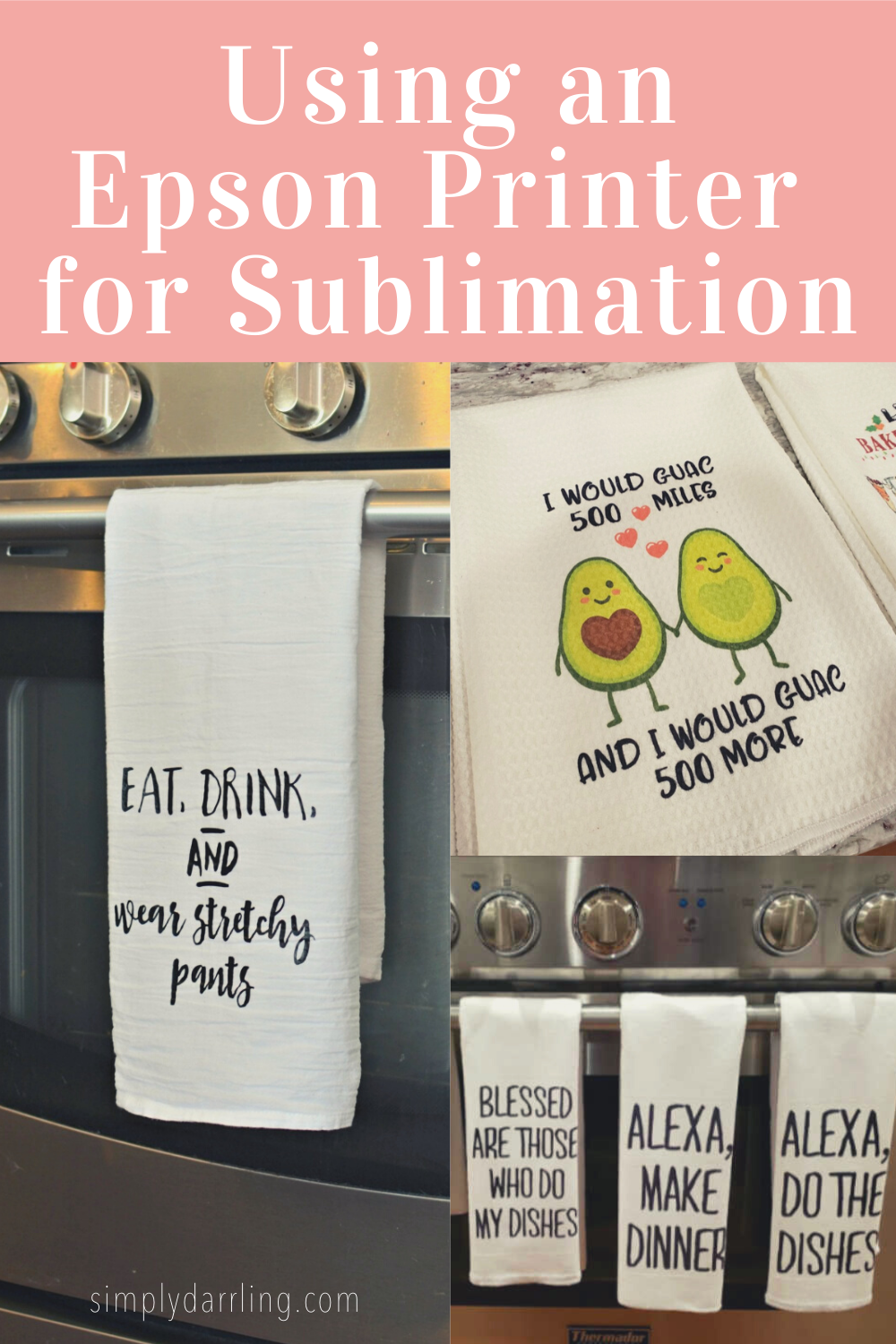 Sublimated Kitchen Towel
