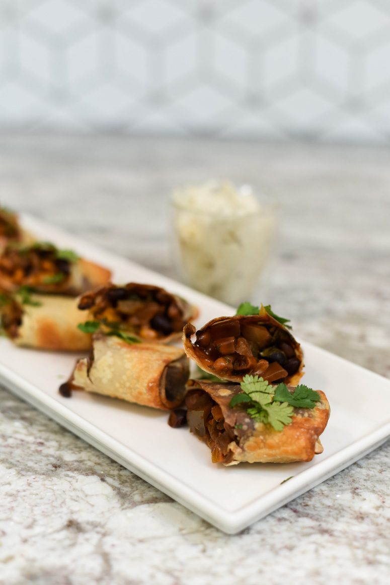 Southwest Air Fryer Egg Rolls