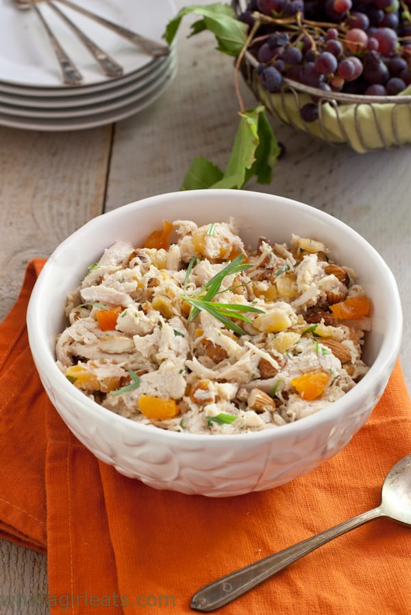 Apricot Almond Chicken Salad