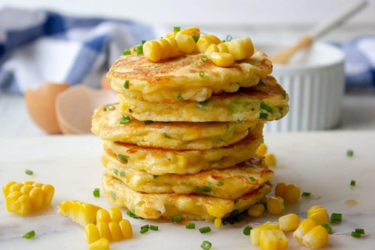 Simple and Delicious Corn Fritters