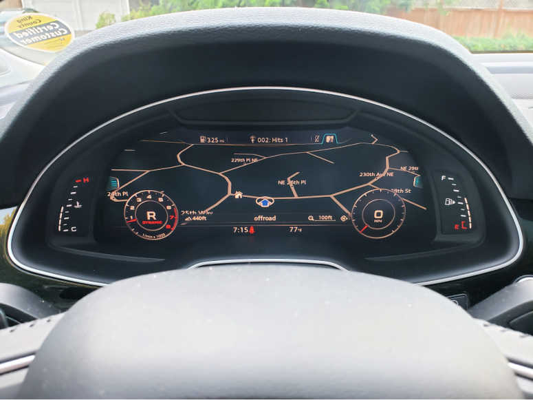 2017 Audi Q7 In-Dash Maps