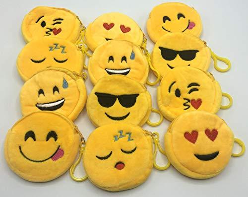 Emoji Keychain Zippered Pouch