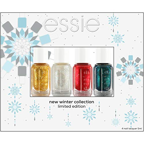essie Holiday four piece minis