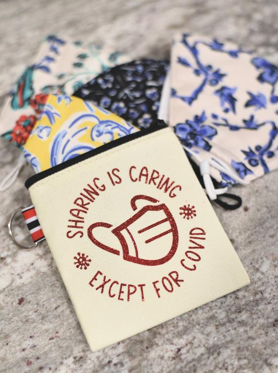 Wearing is Caring Canvas Pouch
