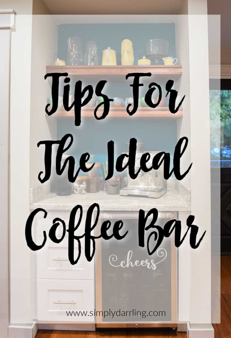Tips for the ideal coffee bar