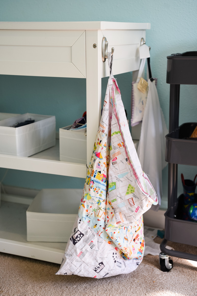 Hanging Washable Kids Hamper