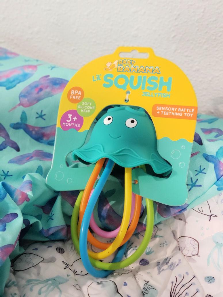 Jellyfish baby toy