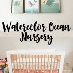Watercolor Ocean Nursery Reveal
