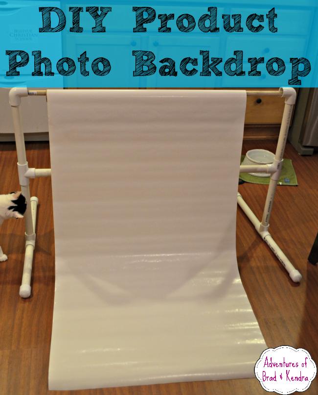 DIY Product Photo Backdrop